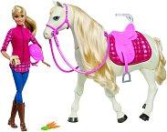 Kůň snů a panenka Barbie, Mattel, 2990 Kč.