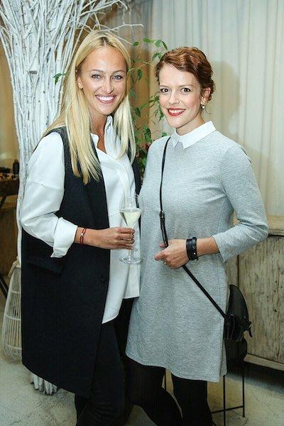 Renata Langmannová a Andrea Růžičková.