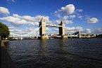 Jeden ze symbolů Londýna – Tower Bridge