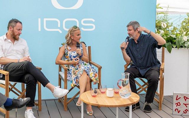 talkshow Libora Boučka v IQOS Lounge