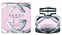 Něha i vášeň v jednom – Gucci Bamboo je smyslným, dřevitě- květinovým koktejlem. Cena 2549 Kč.
