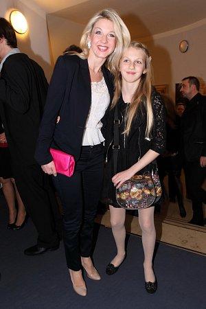 Sabina Laurinová s dcerou Valentýnkou