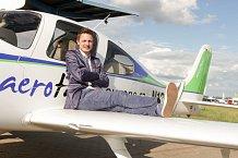 """""""Aerotaxi je velmi příjemná záležitost,"""" pochvaloval si Ondřej."""