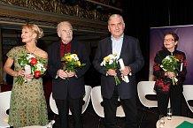 Vilma Cibulková, Luděk Munzar, Miroslav Donutil a Hana Maciuchová měli u posluchačů velký úspěch.