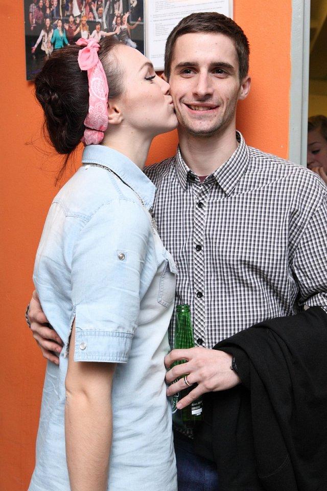 Kamila Nývltová se svým přítelem Tomášem Smičkou