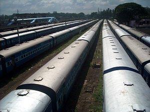 Indické vlaky jsou opravdu dlouhé...