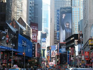 new york time sq.