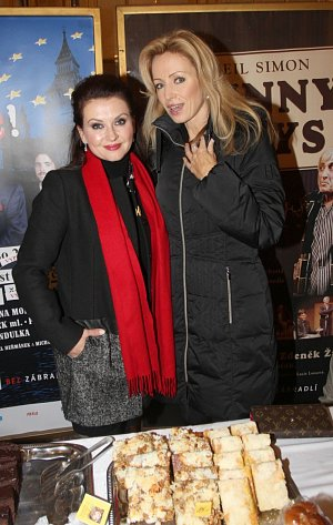 Dana Morávková s Kateřinou Brožovou