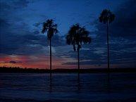 Západy slunce jsou v Canaimě také nádherné