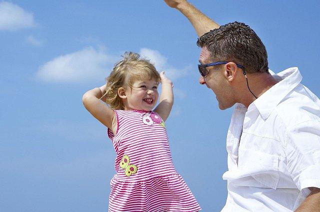Tatínkové s dětmi, to je ideální spojení!