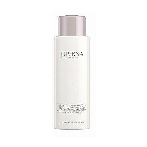 Čistící voda Miracle Express Cleansing Water for face & eyes, Juvena, cena 890 Kč. K dostání v síti Fann.
