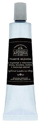 Vlasová majonéza pro všechny typy vlasů s arganovým a rakytníkovým olejem, bambuckým máslem a extraktem z ibišku, Havlíkova Přírodní Apoteka, 150 ml 470 Kč
