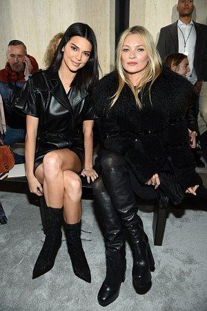 Kendall Jenner a Kate Moss