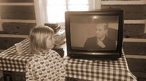 Dcera moderátora Jana Punčocháře je tatínkovou pravidelnou divačkou.
