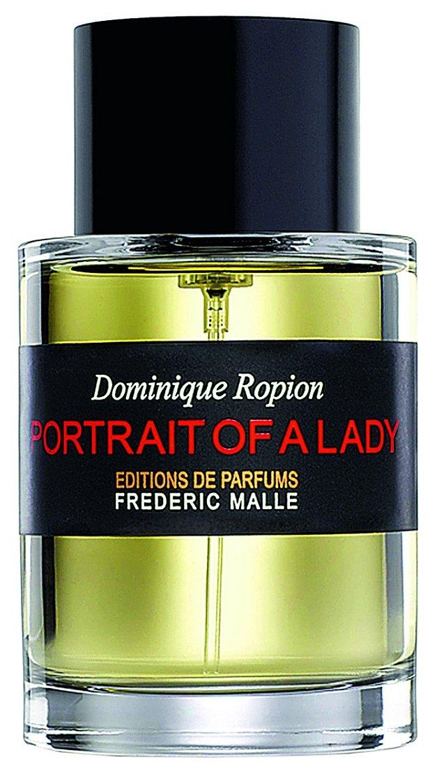 Používám parfém Portrait Of A Lady. Je neotřelý a lidi kolem lehce znervózňuje. FREDERIC MALLE, INGREDIENTS, 50ml 4650 Kč