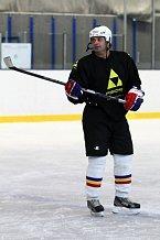 Slavný herec je kapitánem mužstva HC Olymp.