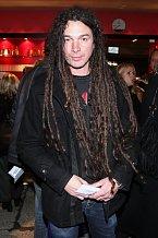 Nechyběl ani zpěvaččin partner Tomáš Vartecký.