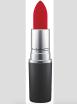 Když už rtěnku, tak matnou červenou. MAC 550 Kč