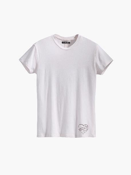 Bílé tričko, Levis, cena 590 Kč.