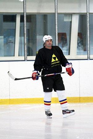 Hokej je Martinova vášeň