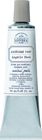 Noční emulze Andělská tvář pro vyhlazený vzhled pleti s obsahem extraktu z hlíz brambory a mateří kašičky, Havlíkova Přírodní Apoteka, 30 ml 417 Kč