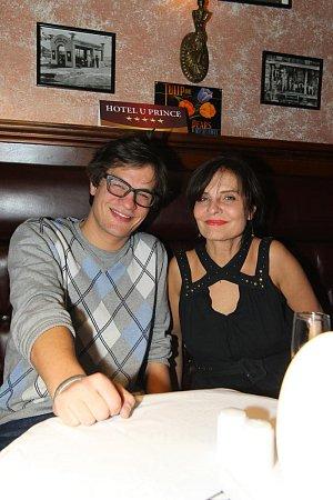 David Kraus s maminkou herečku Janou Krausovou