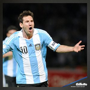 Lionel Messi_Gillette