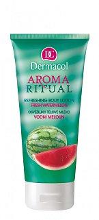 Osvěžující tělové mléko Vodní meloun, Dermacol, cena 99 Kč.