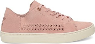 Tenisky Pale Pink Deconstructed Suede Womens Lenox, Toms, cena 2850 Kč.