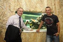 Martin Maxa si popovídal o sportech i o muzice s majitelem Aquapalace Pavlem Sehnalem