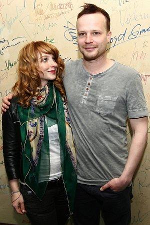 Kryštof Hádek s Vicou Kerekes