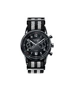 Všichni chlapi milují kvalitní značkové hodinky. Jestli můžete, plácněte se přes kapsu a udělejte mu radost luxusní časomírou. (Tiffany & Co., 225.000 Kč)