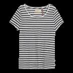 Pruhované tričko, Lindex, cena 499 Kč.