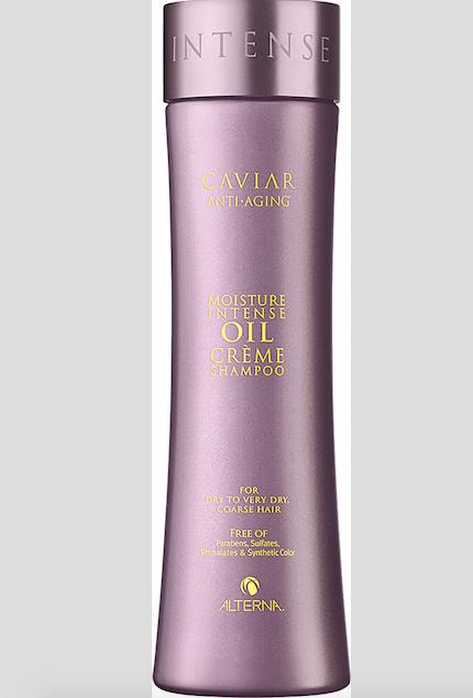 Kaviárový šampon Moisture Intense Oil Créme Shampoo na olejovém základě, Alterna, 250ml 1140 Kč