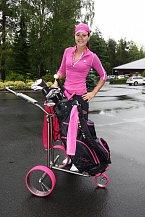 Janě Doleželové to při golfu velmi, velmi slušelo!