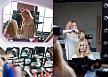Tupíruj si dívko vlasy, bez ohledu na počasí… Kadeřnice Anna Plačková z Toni&Guy hřívu vybavila pro jistotu rovnou trojnásobným objemem.