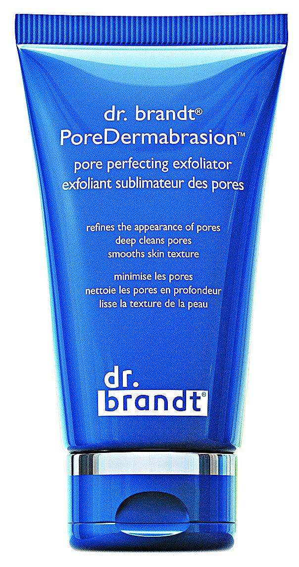 PoreDermabrasion pore perfecting exfoliator peeling s chemickým a mechanickým působením dva v jednom čistí a redukuje vaše póry, dr. brandt, Sephora, 200 ml 590 Kč.