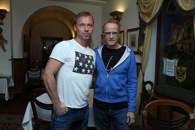 Hvězda osmdesátých let Zdeněk Style Hrubý potkal Christophera na hotelové chodbě