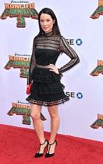 Herečka Lucy Liu.