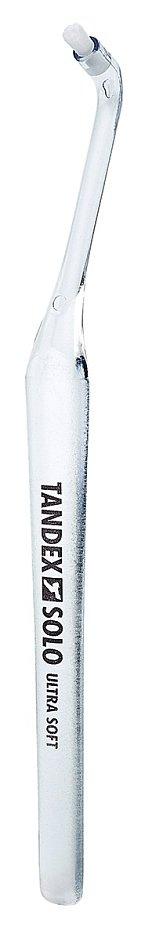 Profesionální jednosvazkový kartáček Solo Ultra Soft s krátkým kulatým zástřihem a ultraměkkými vlákny, Tandex, 75 Kč