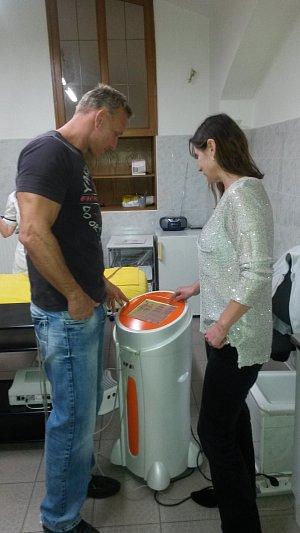 S maitelkou centra Drahomírou Vídeňskou nejprve průběh léčby podrobně prokonzultoval