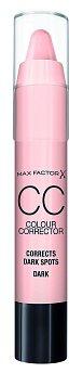 Barevný korektor v tyčince CC Colour Corrector odstín broskvový – vyrovnává tmavé skvrny u středních typů pleti, Max Factor, 490 Kč