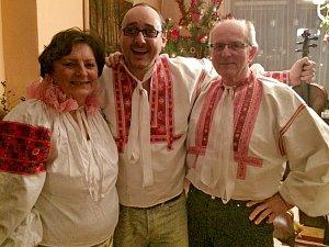 Zpěvák trávil svátky u rodičů v Banské Bystrici.