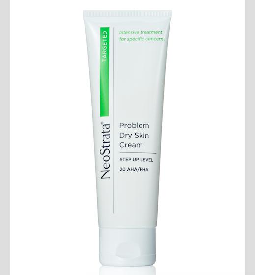 NeoStrata Problem Dry Skin Cream, silný exfoliační krém k ošetření extra suché a zrohovatělé kůže s vitaminem E, včelím voskem, zvláčňujícími oleji a účinnými hydroxy kyselinami, www.neostrata.cz, 100 g za 650 Kč.