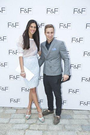 Aneta Vignerová s přítelem Michalem Zemanem
