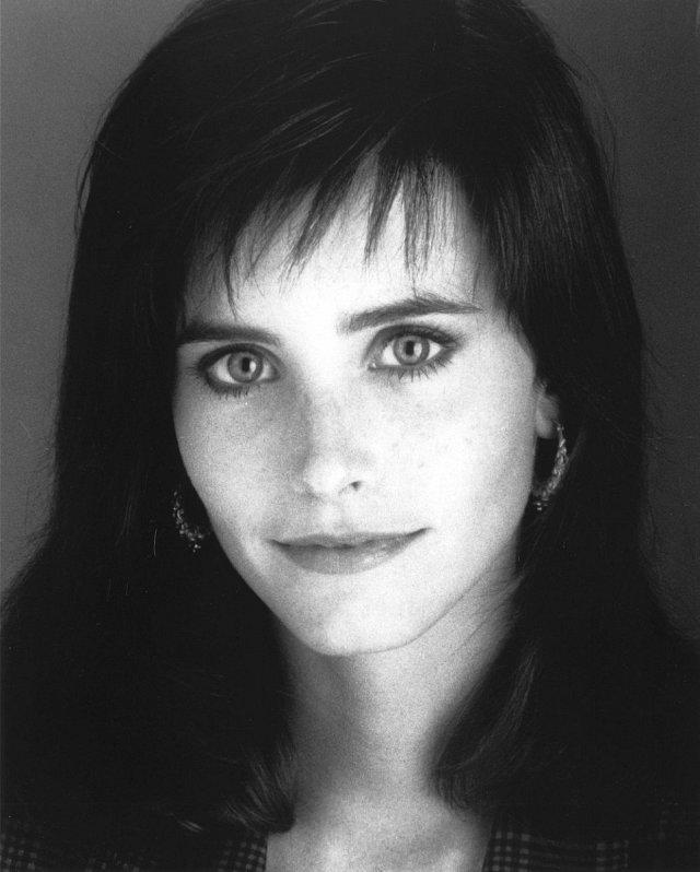 Courteney Cox v roce 1980.