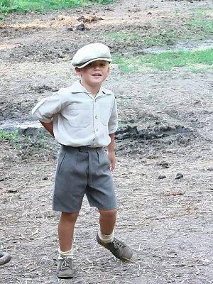 Bořkův syn Kolja ve filmu A Distant Shot