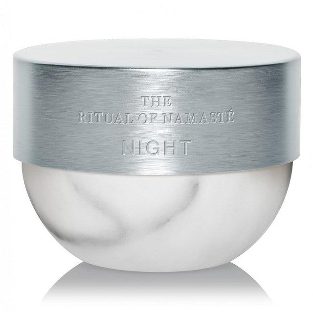 Noční cream The Ritual of Namasté Hydrating Overnight Cream, Rituals.cz, 50 ml, cena 795 Kč.