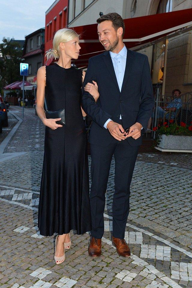 Lukáš Hejlík s přítelkyní Veronikou