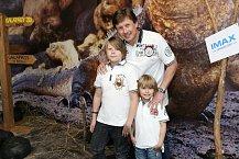 Pavel Kožíšek a jeho synové dali mamince volno a vyrazili si sami
